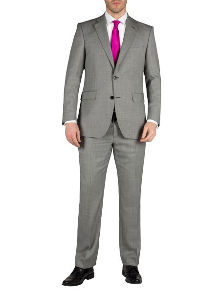Alexandre of England Birdseye regular fit formal suit trousers
