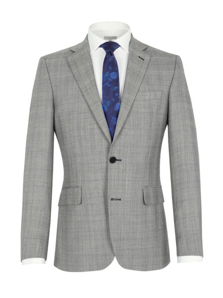Alexandre of England Check notch lapel reg fit jacket