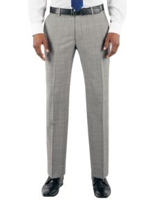 Check regular fit trouser