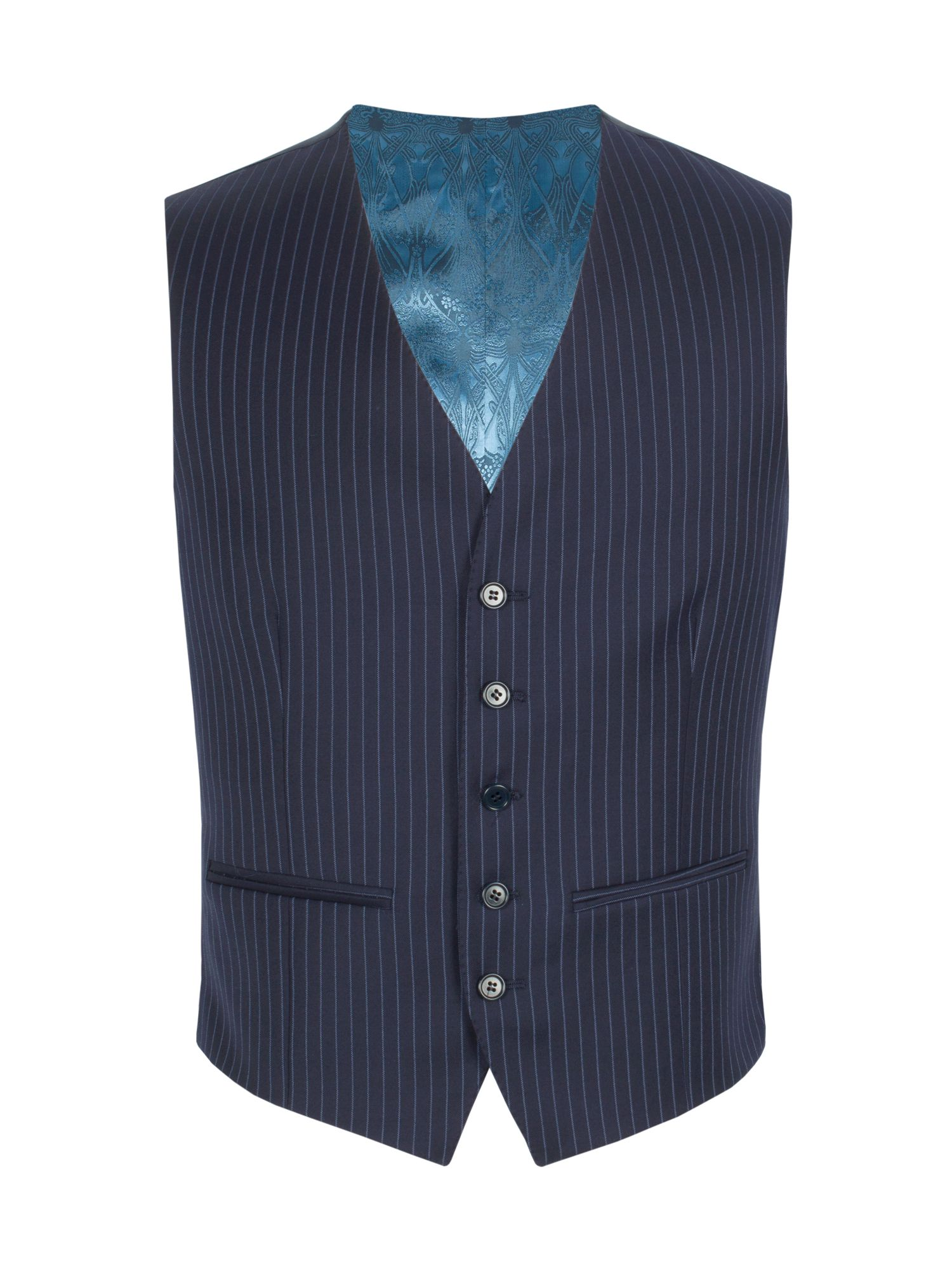 Mens Alexandre of England Stripe waist coat $62.50 AT vintagedancer.com