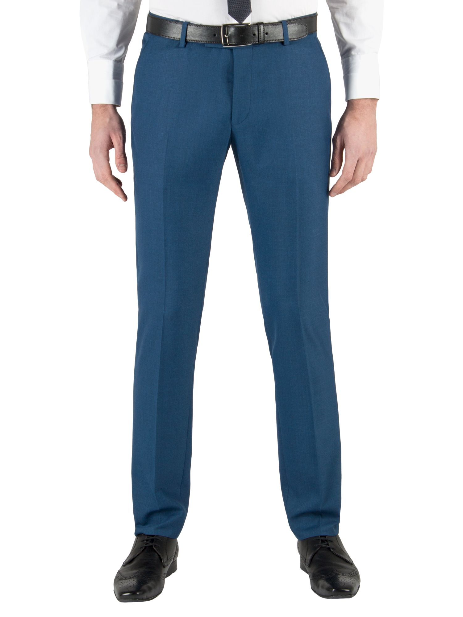Pick and pick formal suit trousers
