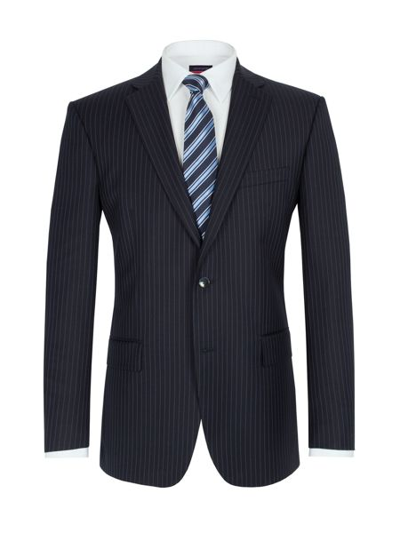 Pierre Cardin Stripe single breasted suit jacket