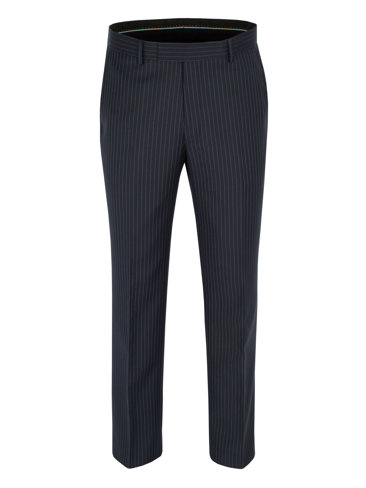 Stripe formal suit trousers
