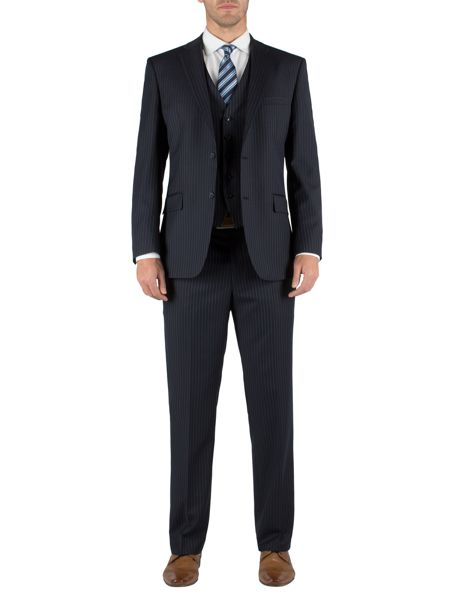 Pierre Cardin Stripe formal suit trousers