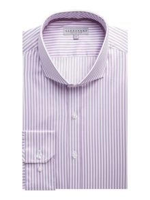 Alexandre of England Stripe long sleeve shirt