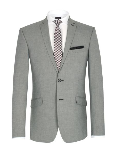 Limehaus Puppytooth single breasted suit jacket