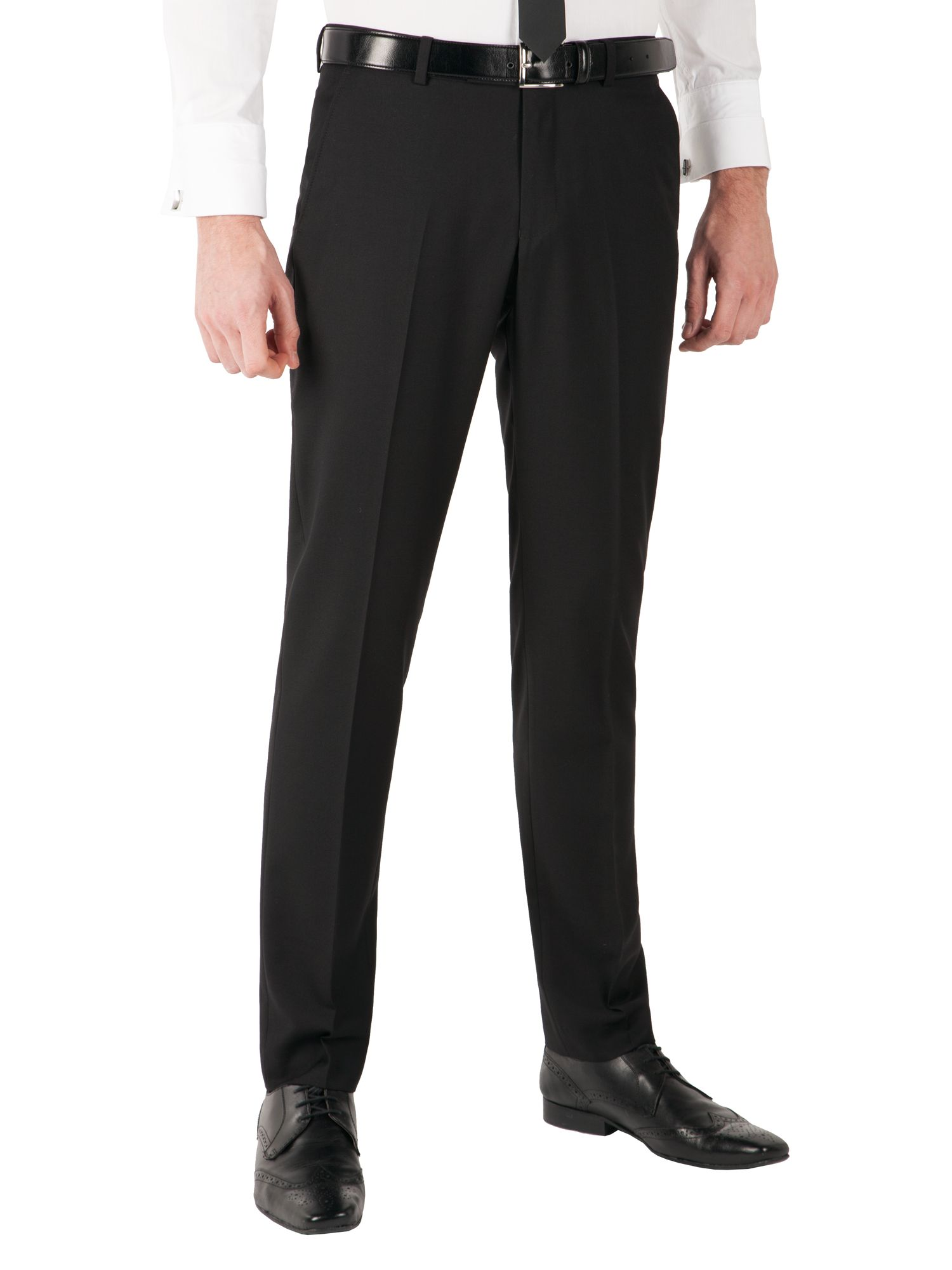 Satin dresswear trousers