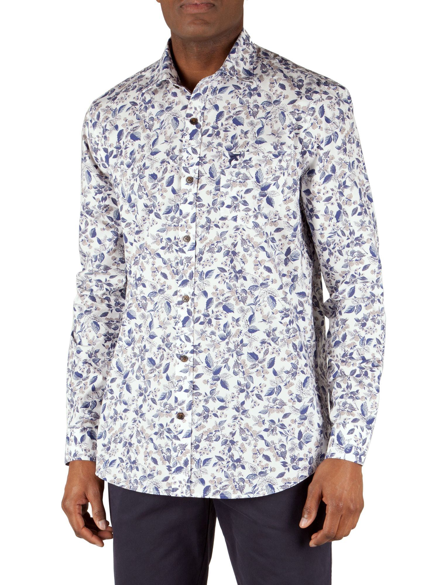 Truro printed berries shirt