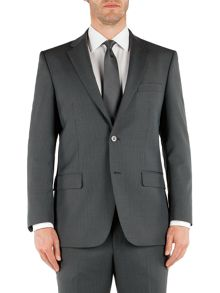 Pierre Cardin Stripe notch lapel regular fit jacket