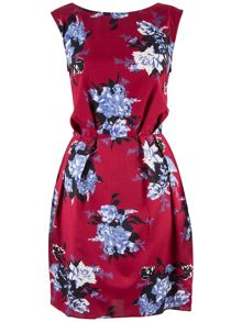 Closet Flower Print Dress