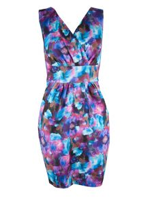 Almari Aquarelle Cross Over Dress