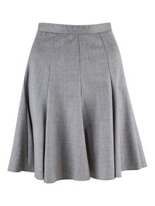 Almari Flared Panel Skirt