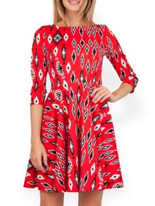 Closet Urban Aztec Skater Dress