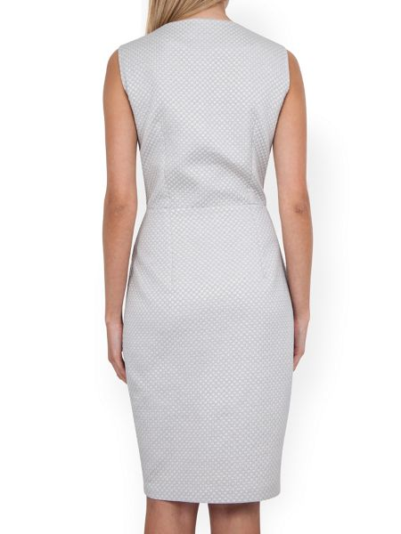 Almari Slit Neck Pencil Dress