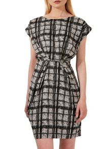 Closet Square Turn Up Sleeve Dress