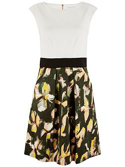 Floral 2 in 1 Dress