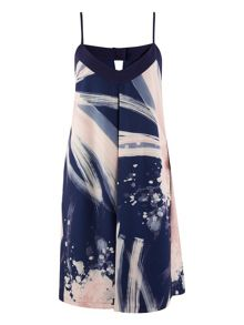 Closet Galactic Print Camisole Dress