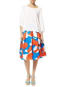 Traffic People Candy Crepe - Whimsical Top