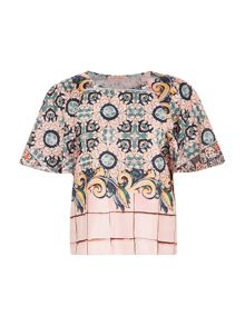Traffic People Carnival Satin - Wingding Top