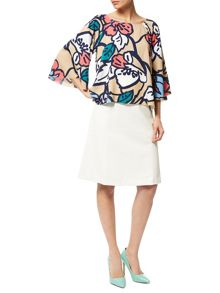 Traffic People Floral Woven - Whimsical Top