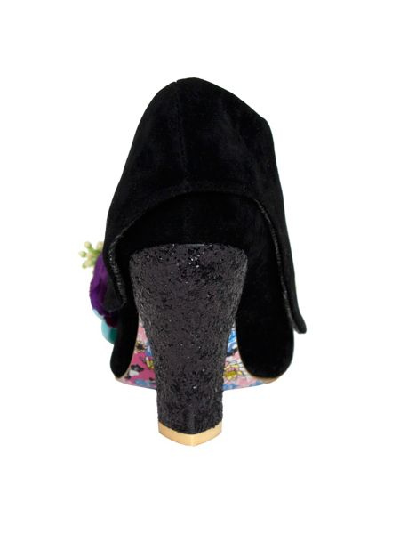 Irregular Choice Lemon pips ankle boots shoes heels