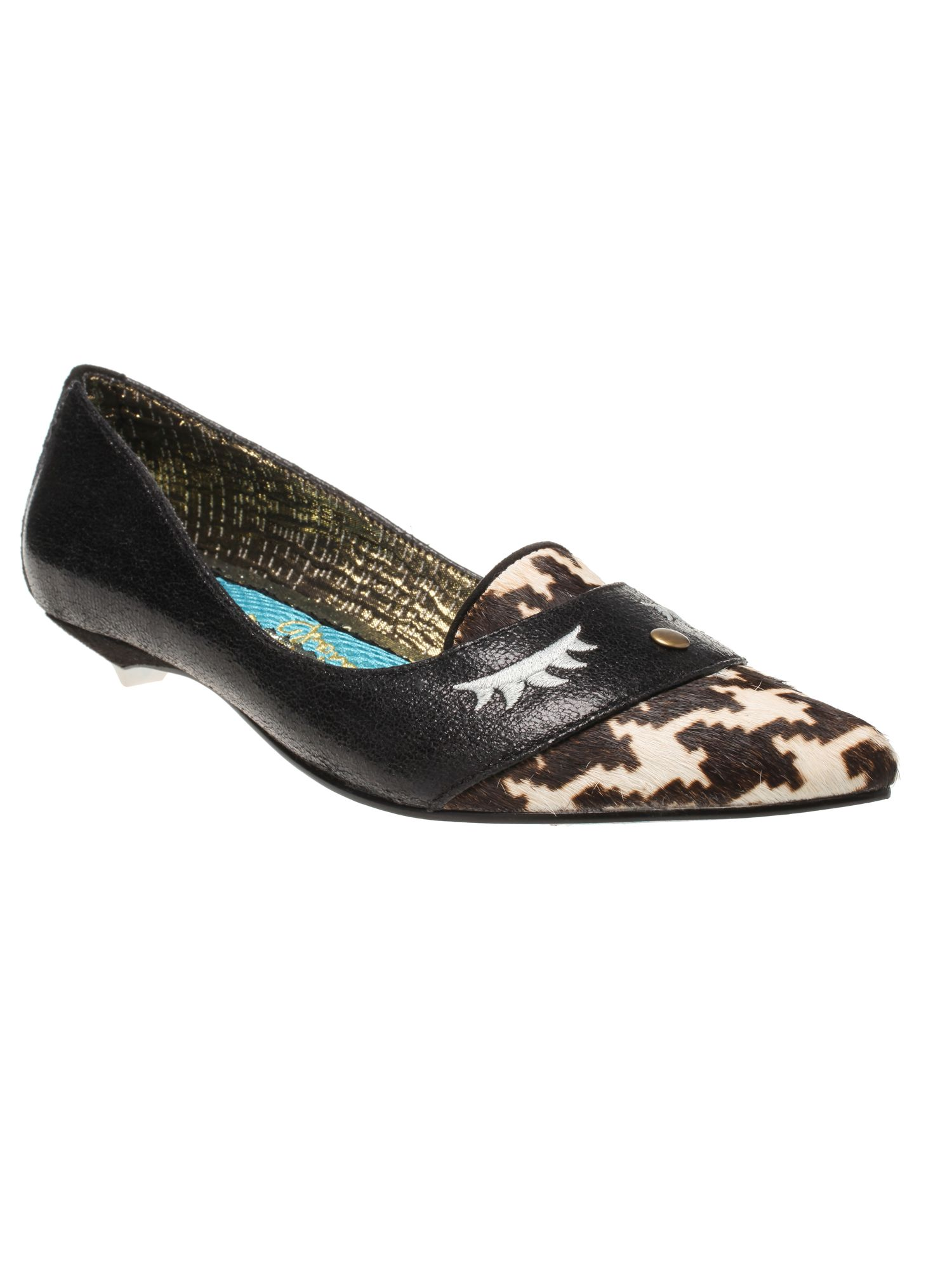 Irregular Choice Sound Asleep Pointed Flat Shoes