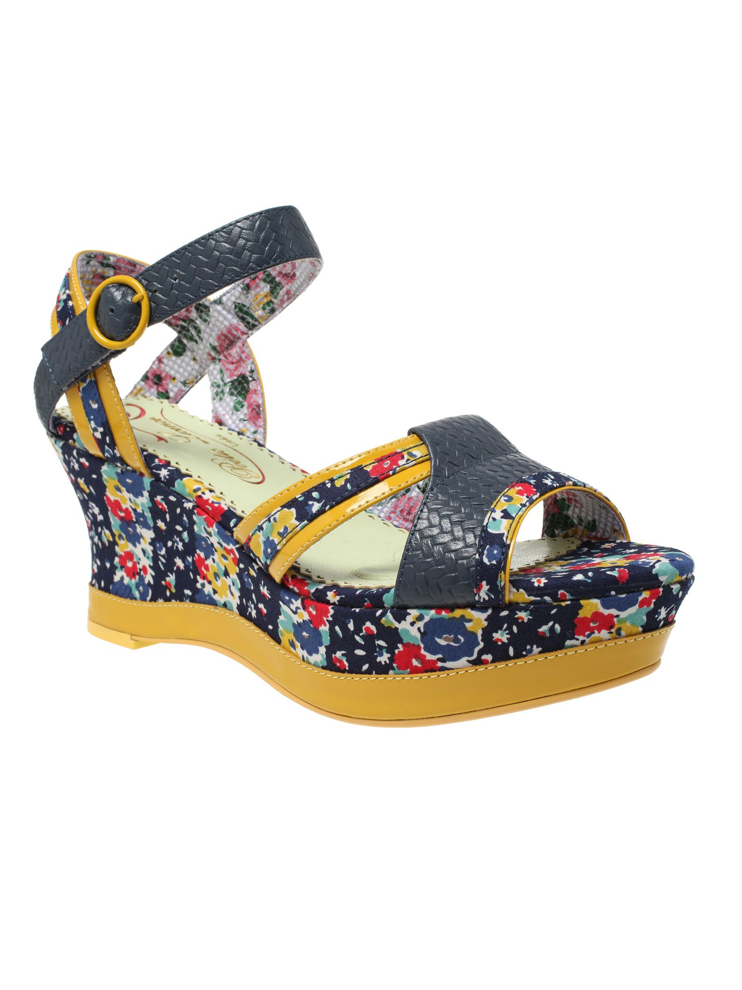 Poetic license my cup of tea platform wedge heel