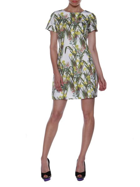 Cutie Garden Print Dress