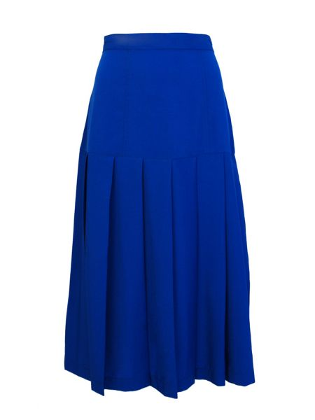 Cutie Pleated Midi Skirt