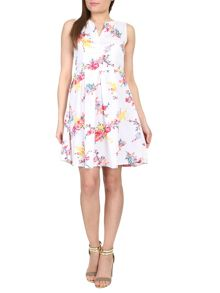Cutie Floral print sleeveless dress