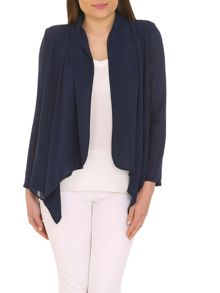 Light chiffon water blazer