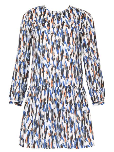Cutie Paint stroke print dress