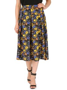 Cutie Midi length skater skirt