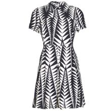 Cutie Zig Zag Collared Dress