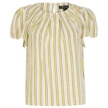 Cutie Striped Pleated Top