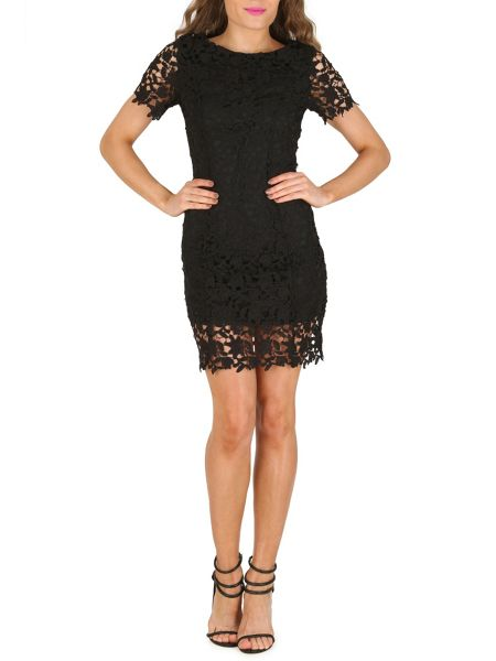 Cutie Lace Fitted Dress