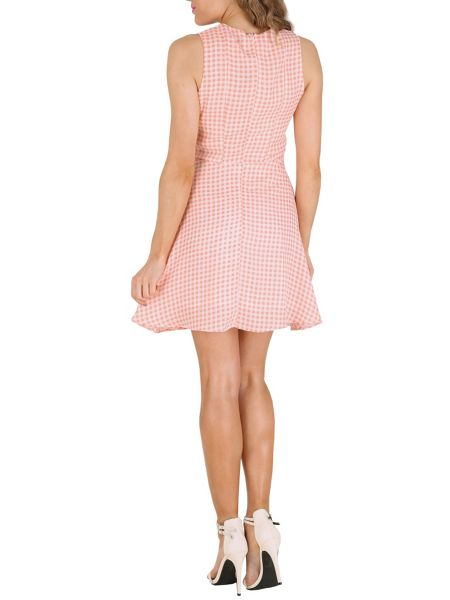 Cutie Check A-line Dress