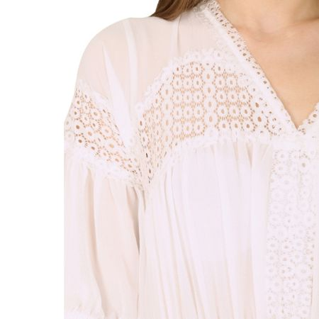 Cutie Lace Detailed Blouse Dress