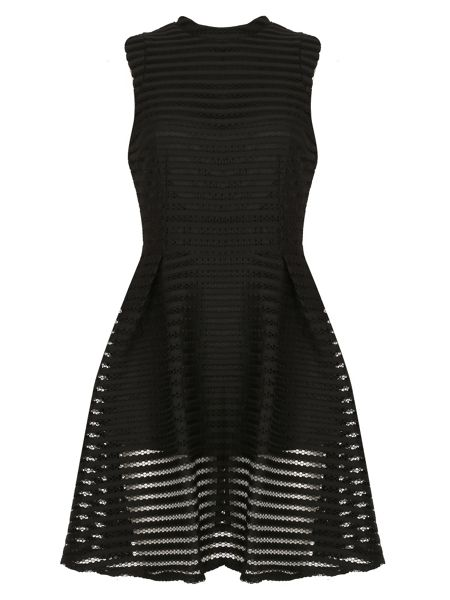 Cutie Textured A-line Dress