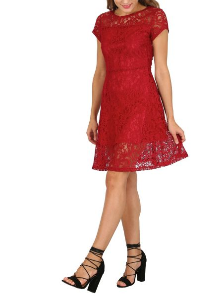 Cutie Lace A-line Dress