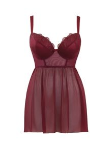 Curvy Kate Kitty longline babydoll