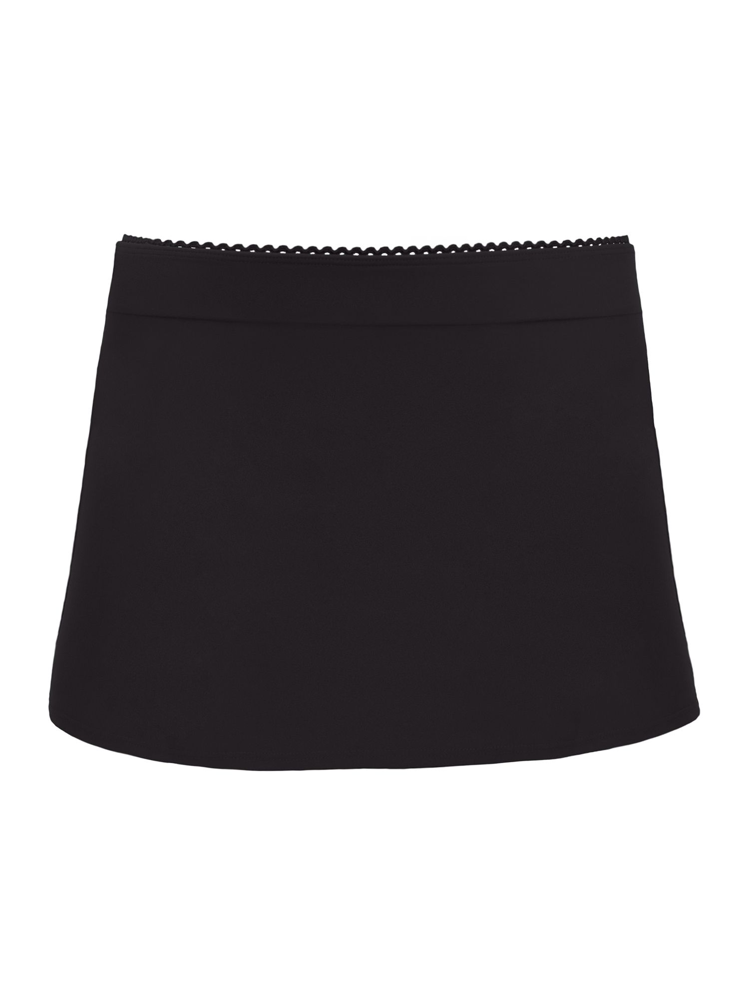Curvy Kate Jetty swim skirt, Black