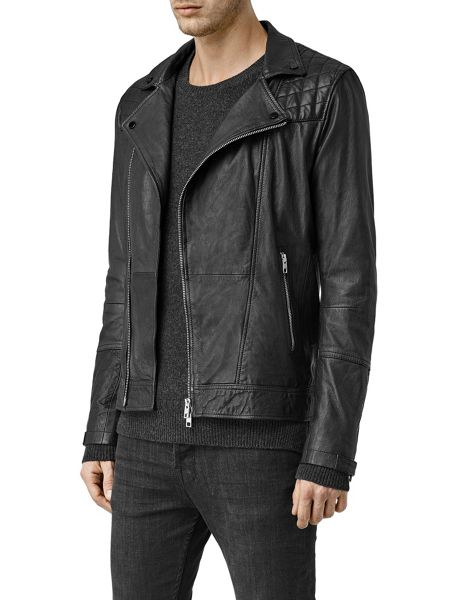 AllSaints Kushiro Leather biker Jacket