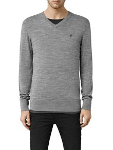 AllSaints Mode merino v neck Jumper