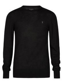 AllSaints Mode Merino Crew Neck Jumper