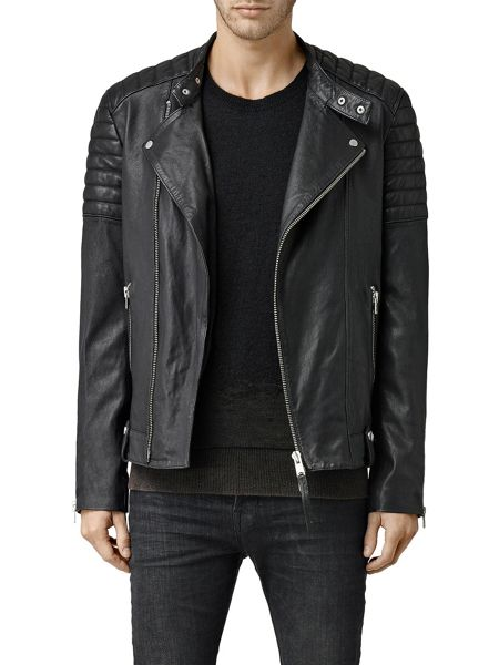 AllSaints Jasper leather biker Jacket