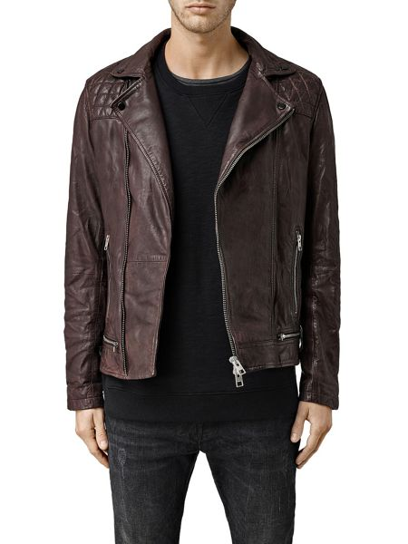 AllSaints Conroy Leather Jacket