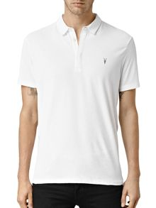 AllSaints Brace short sleeve polo T-Shirt