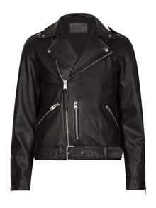 AllSaints Kahawa leather biker Jacket