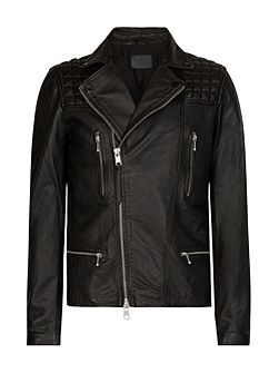Rowley leather biker Jacket
